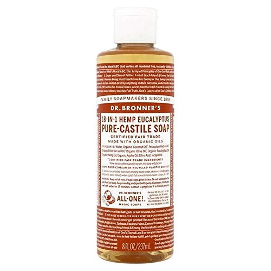 男分析的皮肉[Dr Bronner] Dr。ブロナーズ有機ユーカリの純粋な-カスティーリャ液体石鹸237ミリリットル - Dr. Bronner's Organic Eucalyptus Pure-Castile Liquid Soap...