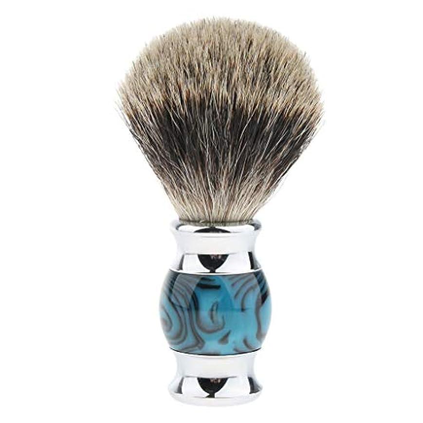 気味の悪い影響を受けやすいですユニークなHellery ひげブラシ シェービング ブラシ メンズ 理容 洗顔 髭剃り 泡立ち 多色選べ - 04