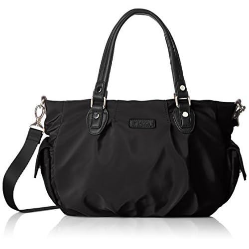 [イザック] ナイロンサテン トートバッグSサイズ  Y71-08-01 10 ブラック
