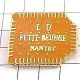 限定 レア ピンバッジ リュLUプチブールビスケット型 ピンズ フランス