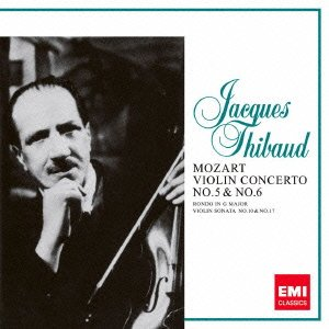 モーツァルト:ヴァイオリン協奏曲第5番&第6番/ヴァイオリン・ソナタ