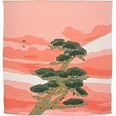 ふろしきや 風呂敷 暁の松(78cm絹100%)