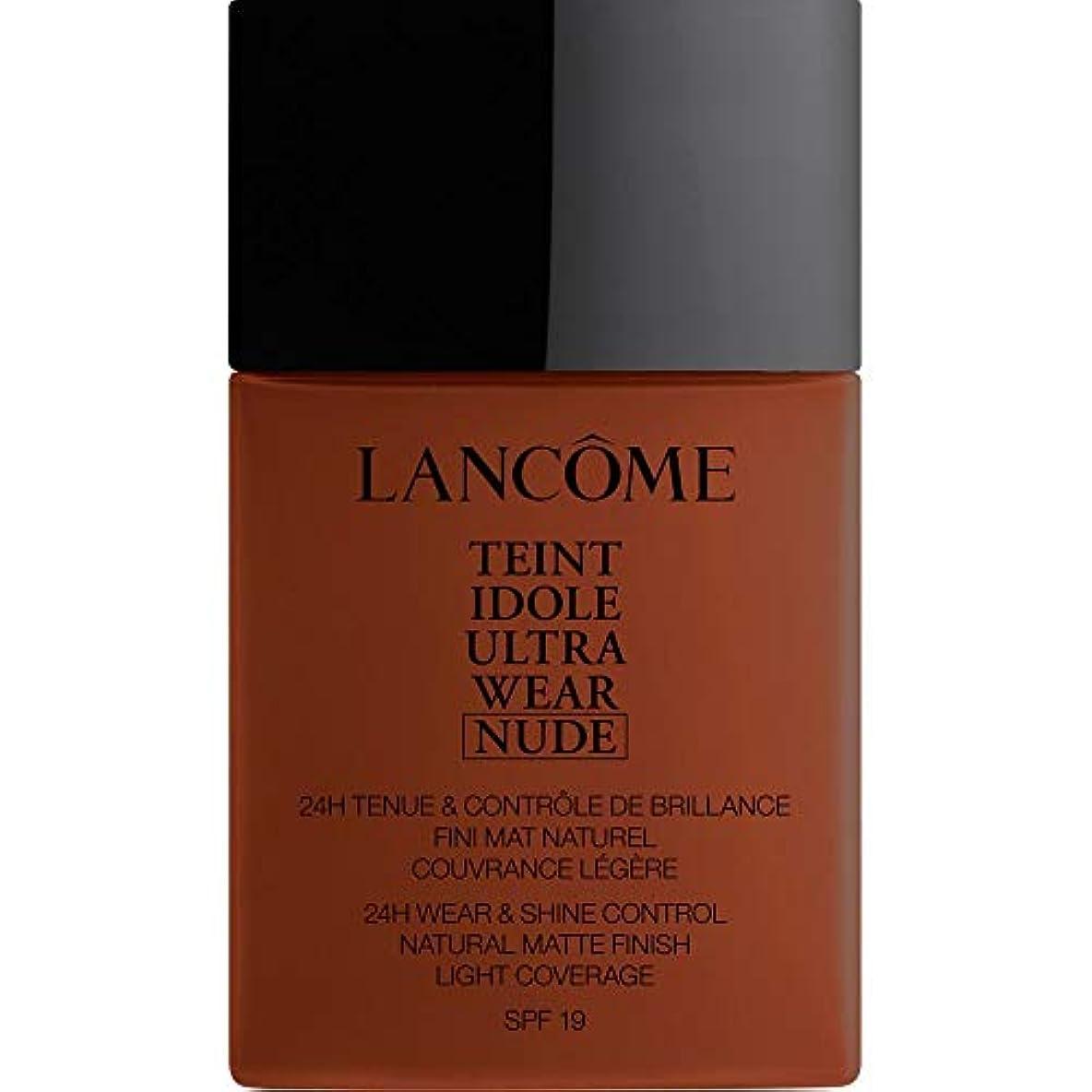 鉄裂け目建設[Lanc?me ] ランコムTeintのIdole超摩耗ヌード財団Spf19の40ミリリットル14 - ブラウニー - Lancome Teint Idole Ultra Wear Nude Foundation SPF19...