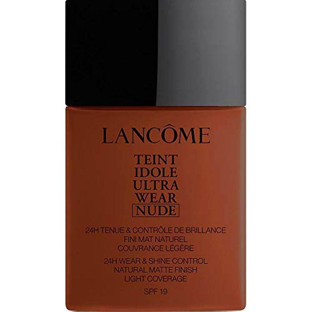 熱狂的なより実際[Lanc?me ] ランコムTeintのIdole超摩耗ヌード財団Spf19の40ミリリットル14 - ブラウニー - Lancome Teint Idole Ultra Wear Nude Foundation SPF19...