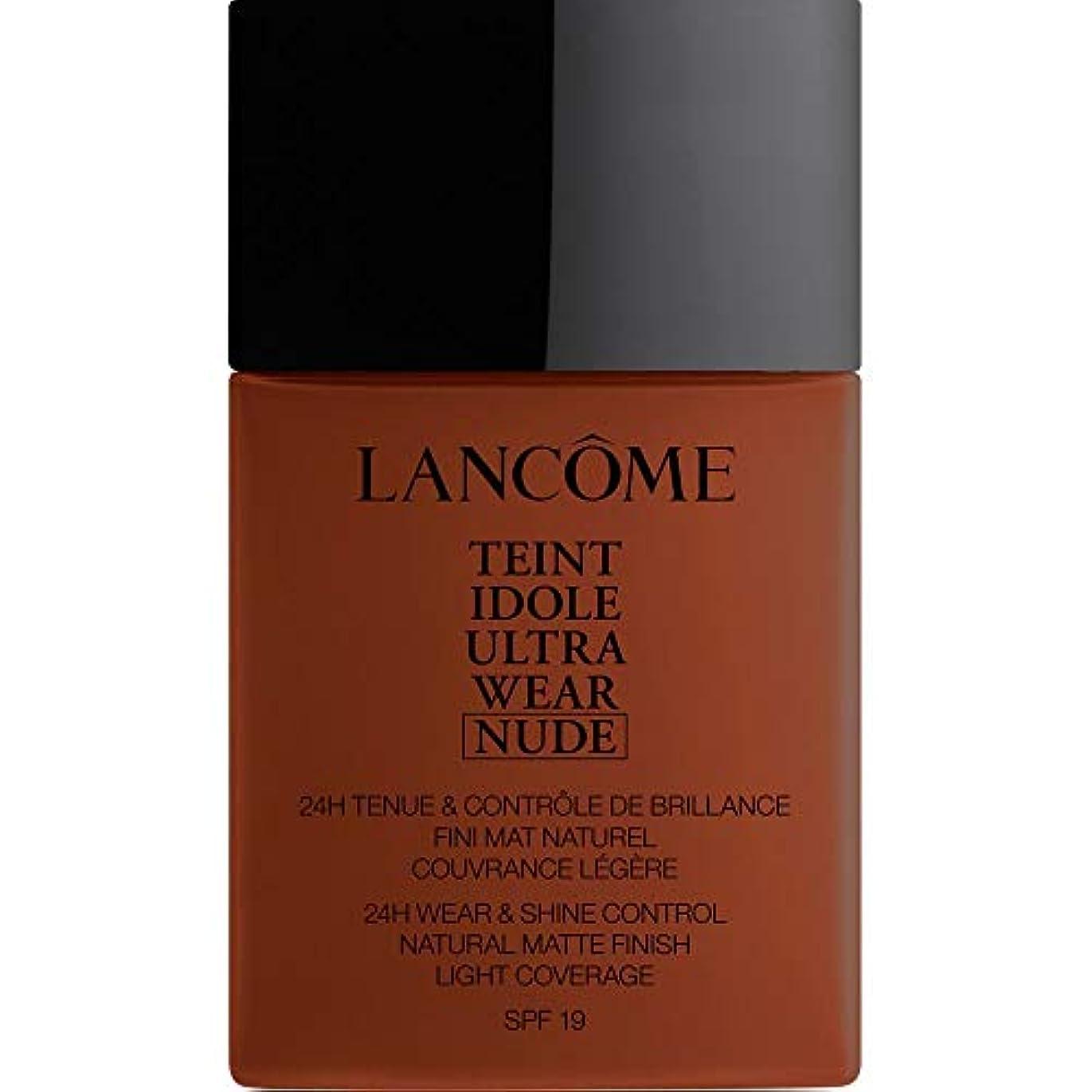 外交キャプテン発明[Lanc?me ] ランコムTeintのIdole超摩耗ヌード財団Spf19の40ミリリットル14 - ブラウニー - Lancome Teint Idole Ultra Wear Nude Foundation SPF19...