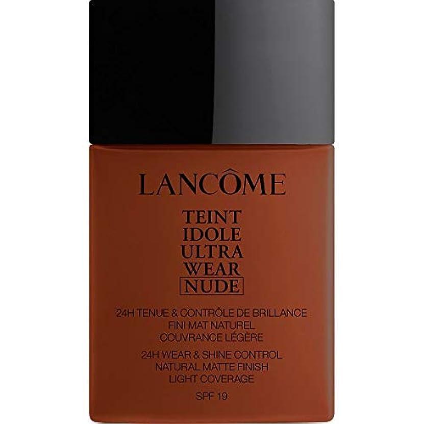 辞任パン噴火[Lanc?me ] ランコムTeintのIdole超摩耗ヌード財団Spf19の40ミリリットル14 - ブラウニー - Lancome Teint Idole Ultra Wear Nude Foundation SPF19...