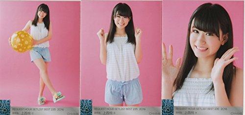 NMB48 リクエストアワー2016 会場生写真 3枚コンプ 上西 怜