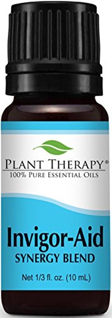 援助する転用話をするPlant Therapy Invigor-Aid Synergy Essential Oil Blend. 100% Pure, Undiluted, Therapeutic Grade. Blend of: Sandalwood...