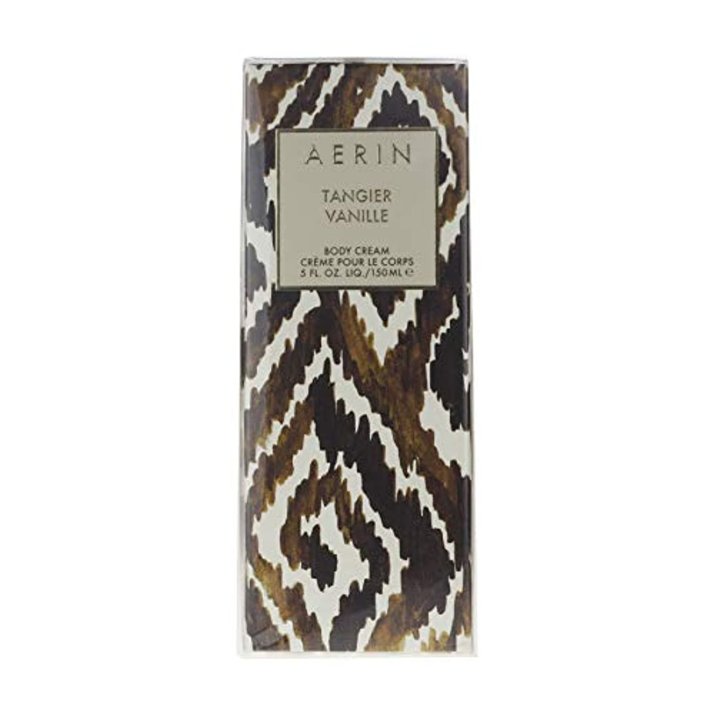 可能にするベッドなくなるAERIN Tangier Vanille (アエリン タンジヤー バニール) 5.0 oz (150ml) Body Cream by Estee Lauder for Women