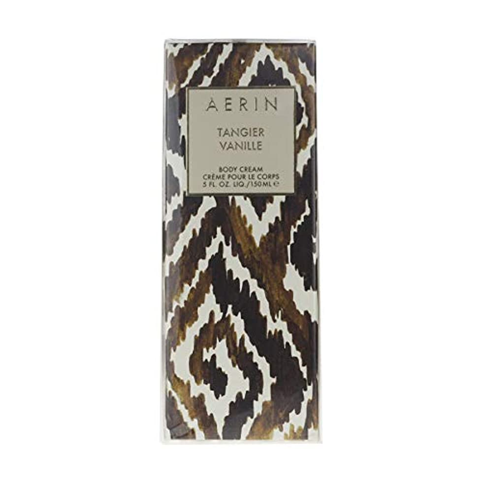 専らボス反対にAERIN Tangier Vanille (アエリン タンジヤー バニール) 5.0 oz (150ml) Body Cream by Estee Lauder for Women