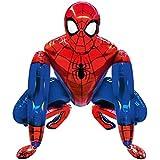BCD-PRO Superhero Spiderman Airwalker Balloon Medium Size for Kid Toddler Birthday Decoration