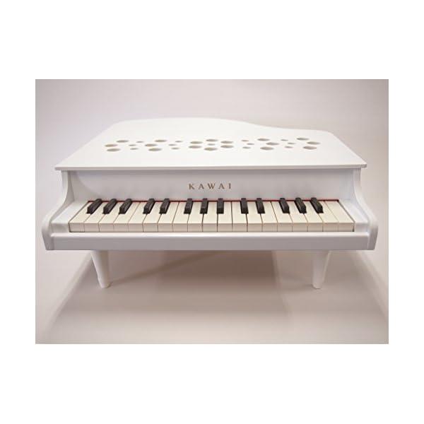 KAWAI ミニピアノP-32 ホワイトの紹介画像2