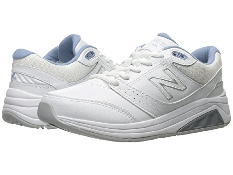 [new balance(ニューバランス)] レディースランニングシューズ?スニーカー?靴 WW928v3 White/Blue 6 (23cm) D - Wide