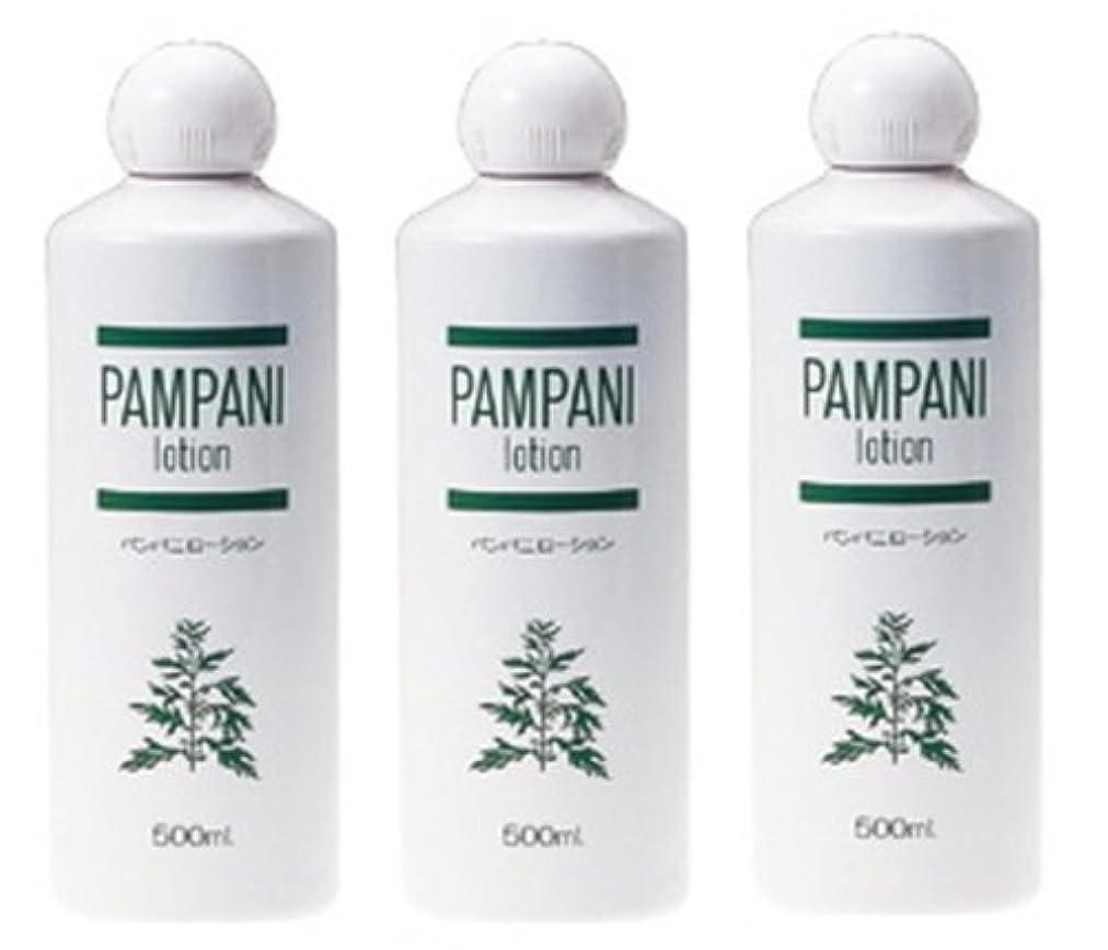 仕立て屋湿気の多い拘束パンパニ(PAMPANI) ローション 500ml×3本組
