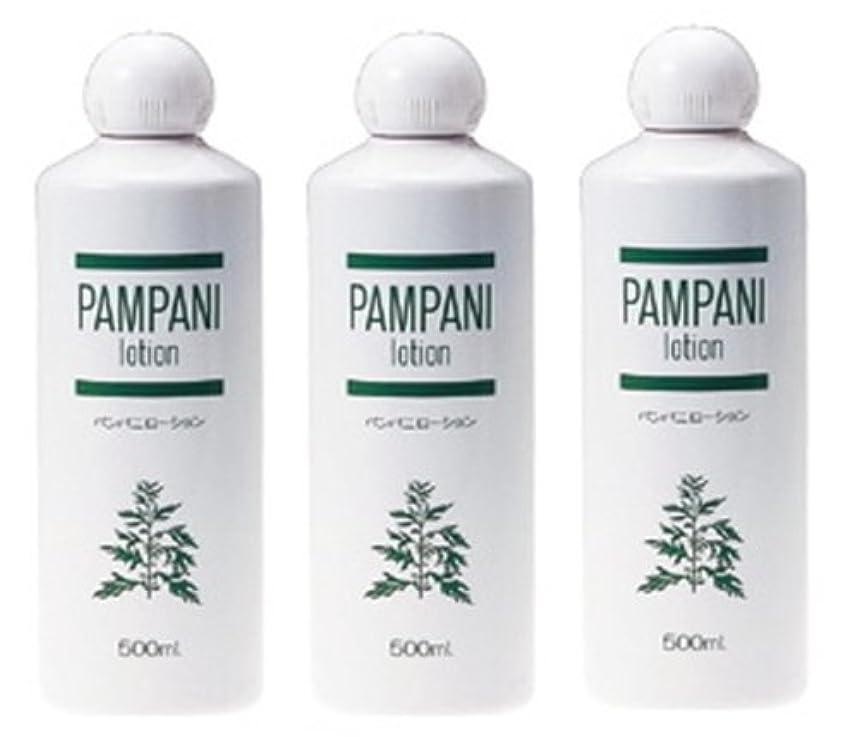 ズボン分離するどこでもパンパニ(PAMPANI) ローション 500ml×3本組