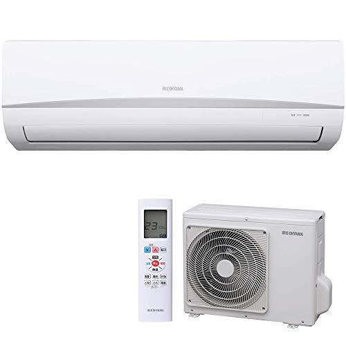 アイリスオーヤマ エアコン 6畳用 冷暖房 室外機セットモデ...