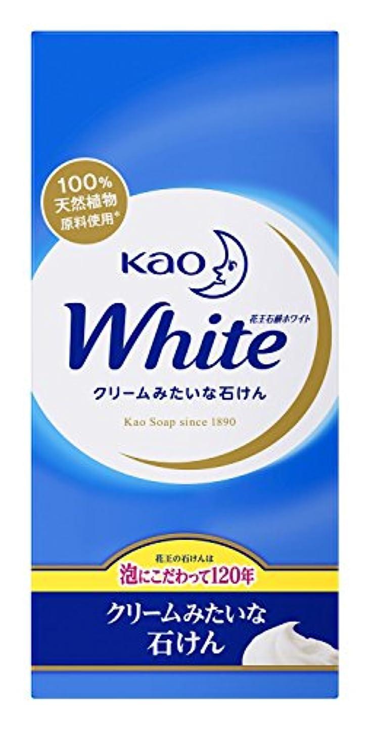ピルファー不規則な脅迫花王 ホワイト石鹸 ホワイトフローラルの香り 1セット(6個×5パック)