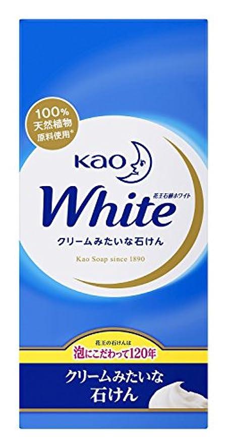 固執圧縮された引き渡す花王 ホワイト石鹸 ホワイトフローラルの香り 1セット(6個×5パック)
