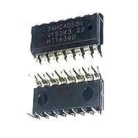 10PCS 10pcs / Lot CD74HC4053E MM74HC4053N TC74HC4053AP DIP-16マルチプレクサチップ74HC4053N
