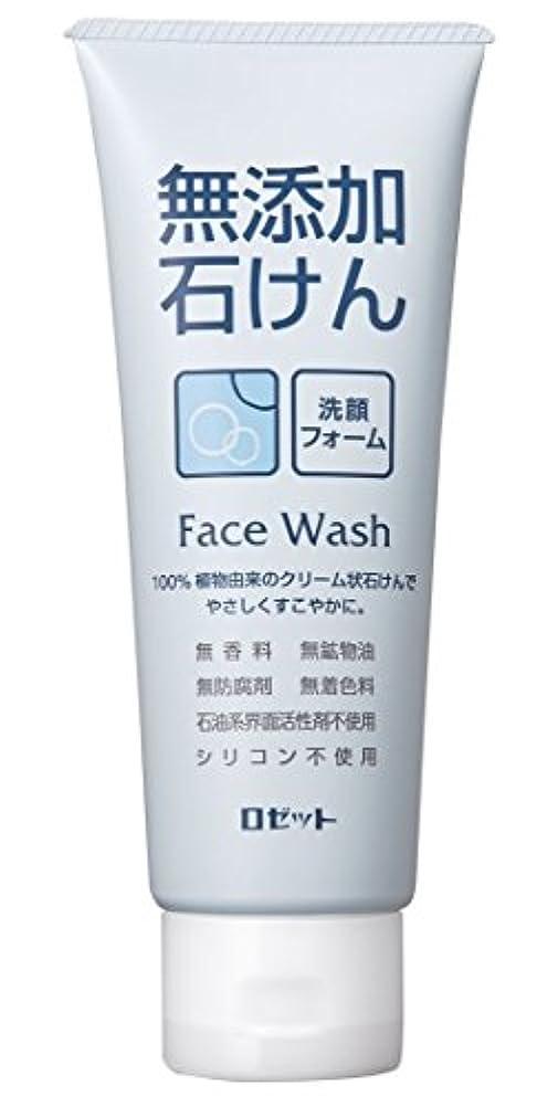 骨折ばかげている工業化するロゼット 無添加石けん 洗顔フォーム 140g