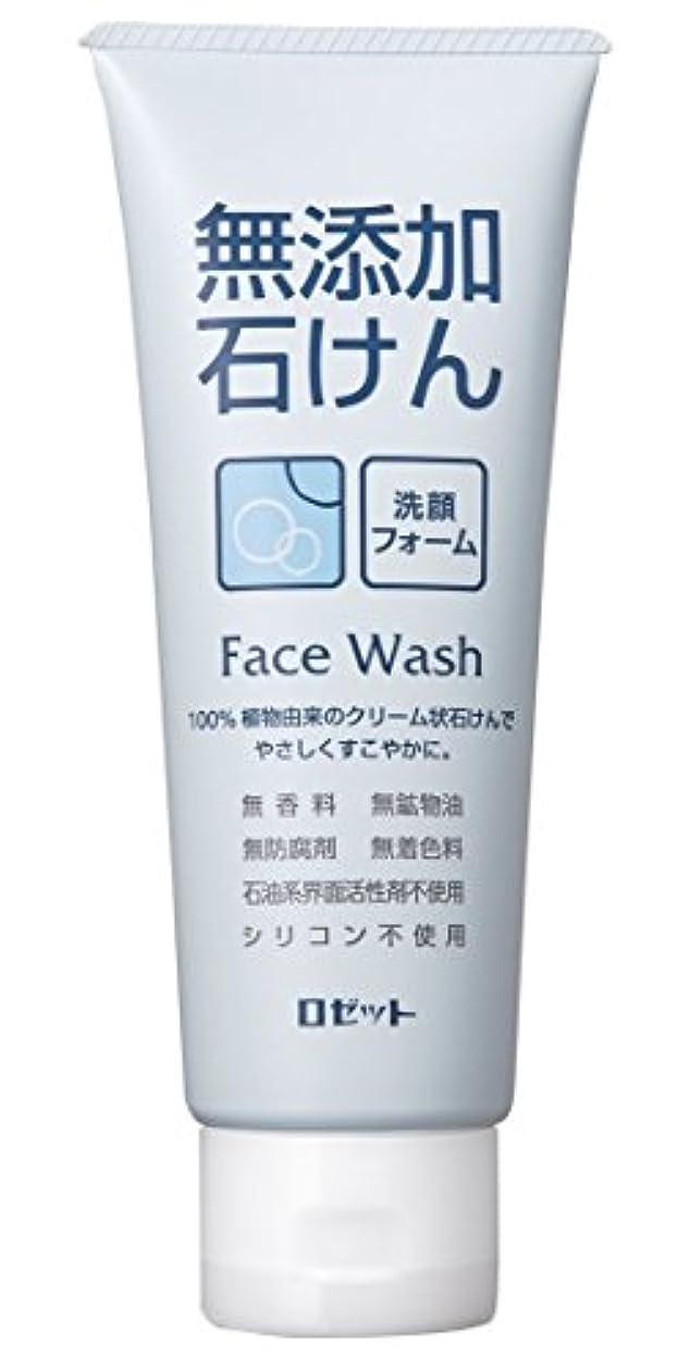 調停者フィドル何故なのロゼット 無添加石けん 洗顔フォーム 140g