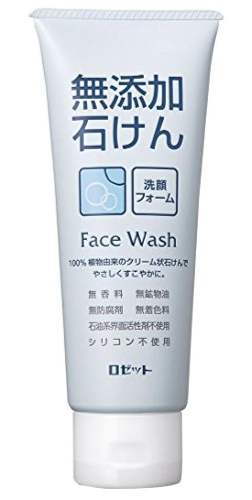 確立します編集する正気ロゼット 無添加石けん 洗顔フォーム 140g