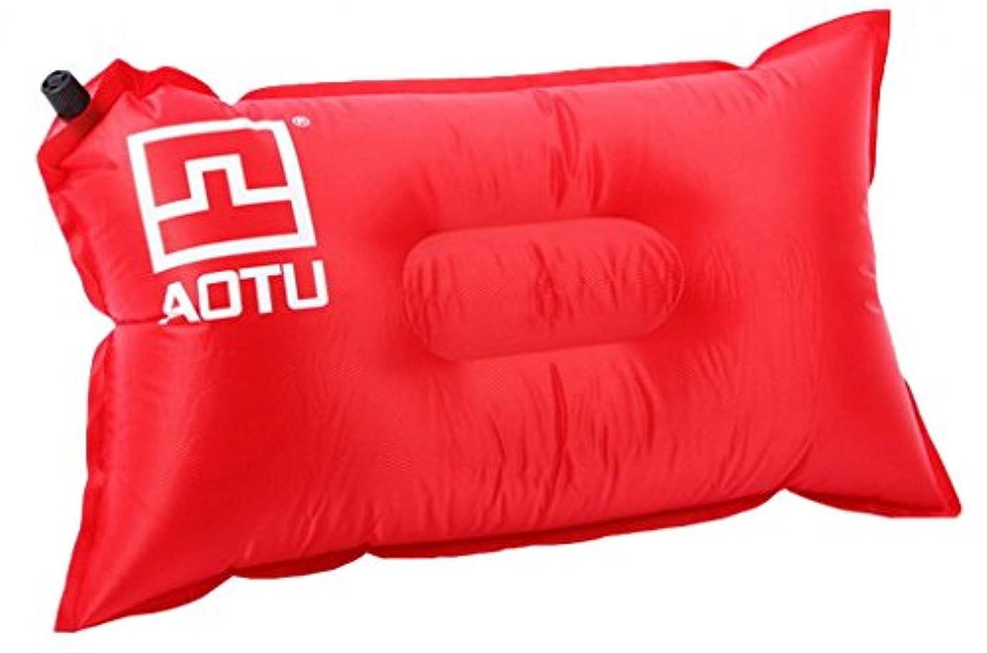 禁止加害者期待acmede Self Inflatingキャンプ枕インフレータブル枕キャンプ旅行ソフトblow-up