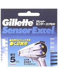 ジレット センサーエクセル専用替刃5コ入り