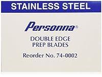 Personna 準備ダブルエッジかみそりの刃 - モデル74-0002 - 100の箱