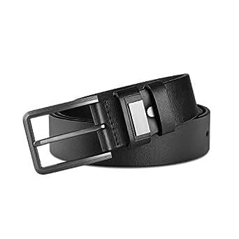 Niksa ベルト メンズ 本革 レザー ビジネス&カジュアル 紳士用 ロング サイズ 調節可能