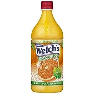 アサヒ飲料 Welch's(ウェルチ) オレンジ100 800g×8本