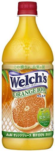 ウェルチ オレンジ100 800g ×8本 アサヒ飲料