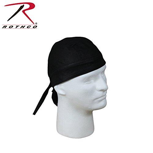[해외]ROTHCO 헤드 랩 프리 사이즈면 블랙/ROTHCO Head Lap Free Size Cotton Black