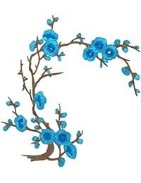 SONONIA 刺繍パッチ 飾り パッチ レース 花柄 アップリケ 縫製用品 刺繍飾り 工芸品 全7色 - パターン7