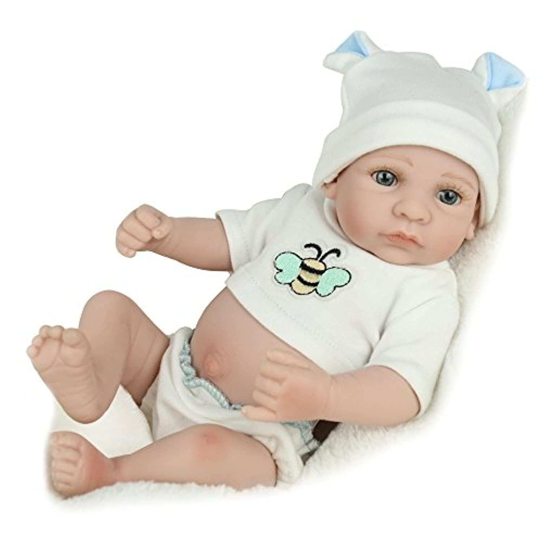 Kaydora Cute Bee10インチフルシリコーン製リボーン男の子赤ちゃん人形ウオッシャブルお風呂パートナー手づくりLifelike仕様