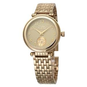[ヴィヴィアンウエストウッド]Vivienne Westwood 腕時計 プリムローズ ゴールド×ゴールド クォーツ レディース VV051CPGD レディース 【並行輸入品】