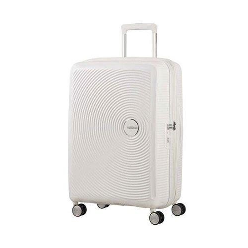 [アメリカンツーリスター] スーツケース SOUND BOX サウンドボックス スピナー67cm 無料預入受託サイズ エキスパンダブル機能  保証付 71L 67cm 3.7kg 32G*05002 05 ピュアホワイト