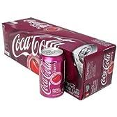 【お一人様2ケースまで】コカコーラ チェリーコーク 355ml 箱入り12缶ケース