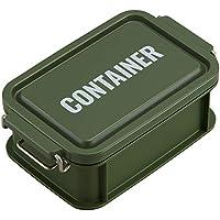 オーエスケー 弁当箱 カーキ 容量:約450ml ランチチャイム コンテナ ランチボックス S CNT-450