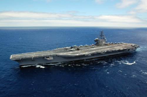 ロナルド・レーガン米国海軍Military cvn-76フォト写真8x 12