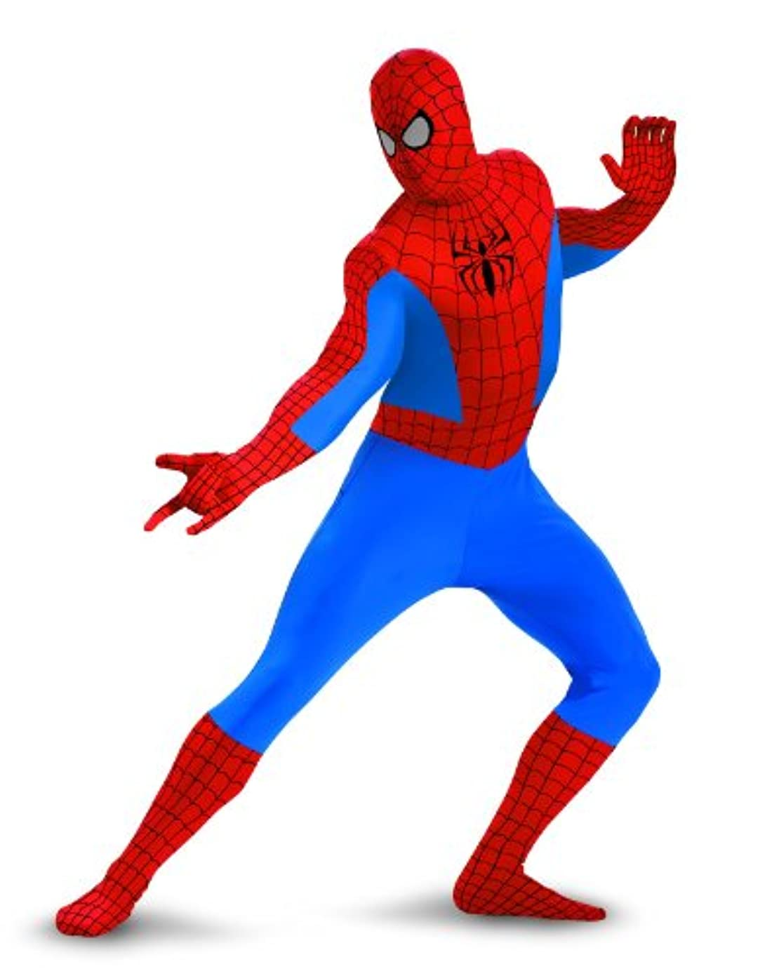 明確なひどい抹消Spider-man Bodysuit Adult Costume スパイダーマンボディスーツ大人用コスチューム?ハロウィン?サイズ:X-Large