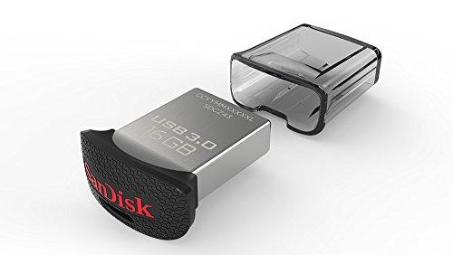 SanDisk USB3.0フラッシュメモリ 16GB ウルトラフィット USBメモリ 130MB/s SDCZ43-016G-GAM46