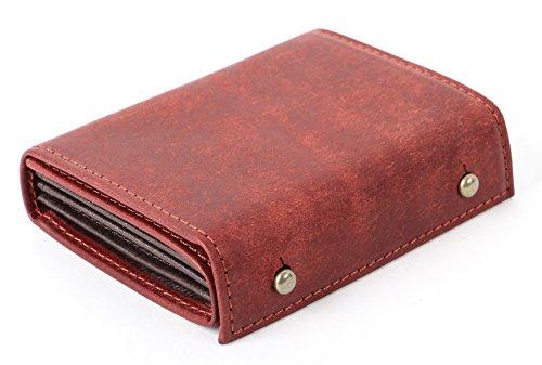 (エムピウ)m+ 二つ折り財布 millefoglie P25 ミッレフォッリエ2 P25 (PU.bordeaux)