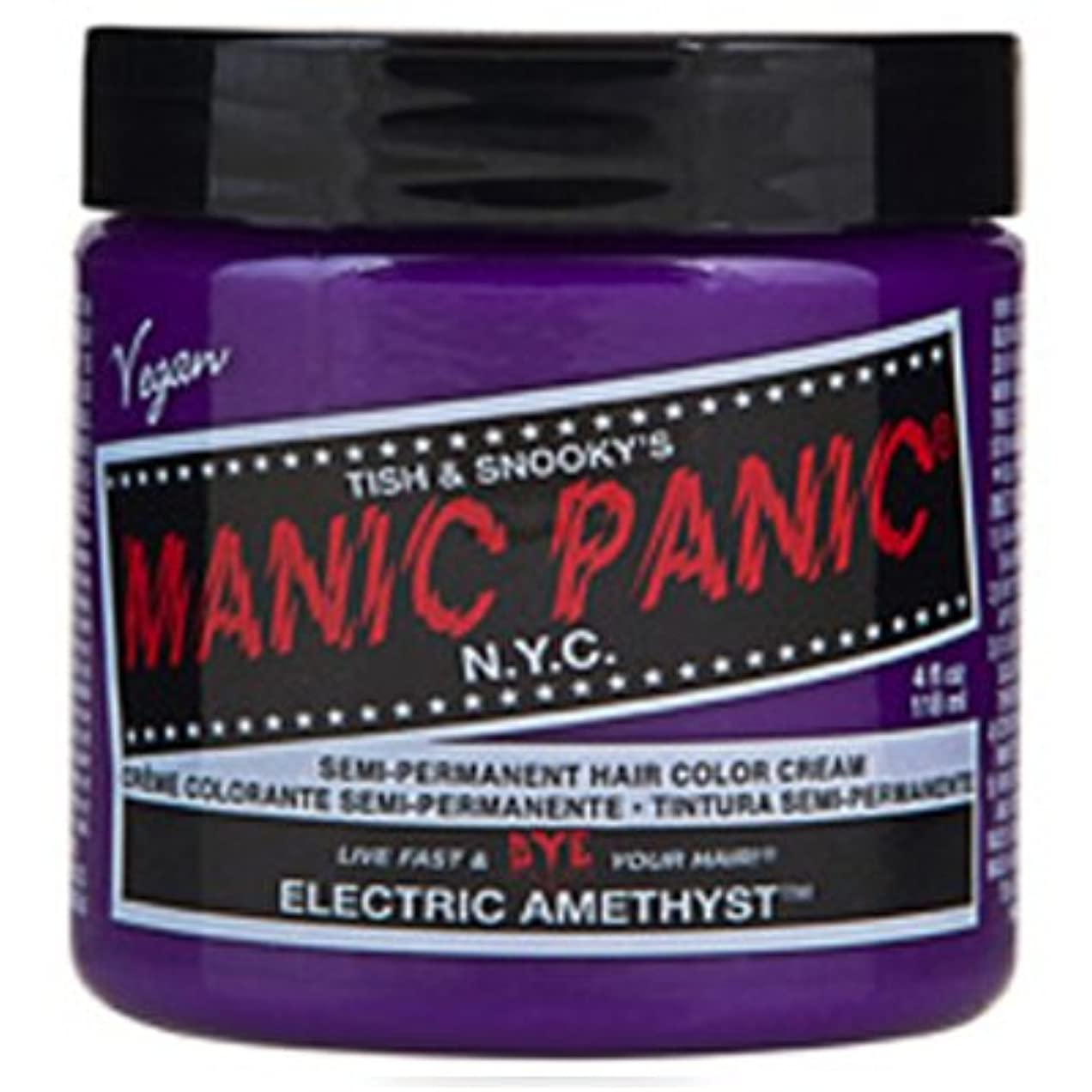 ホームレス石の疼痛Manic Panic クラシックヘアカラーエレクトリックアメジスト 象牙