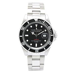 [ダニエルミューラー]DANIEL MULLER DANIEL MULLER (ダニエルミューラー) 腕時計 ダイバーズウォッチ ブラック DM-2018BK メンズ