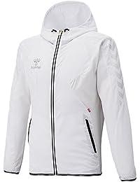 ヒュンメル UT-クロスアップフーデッドジャケット ホワイト HAW7032 L