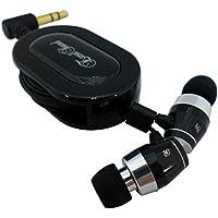エクセルサウンド 巻き取り式高音質カナルヘッドホン ブラック EH-RX7 BK