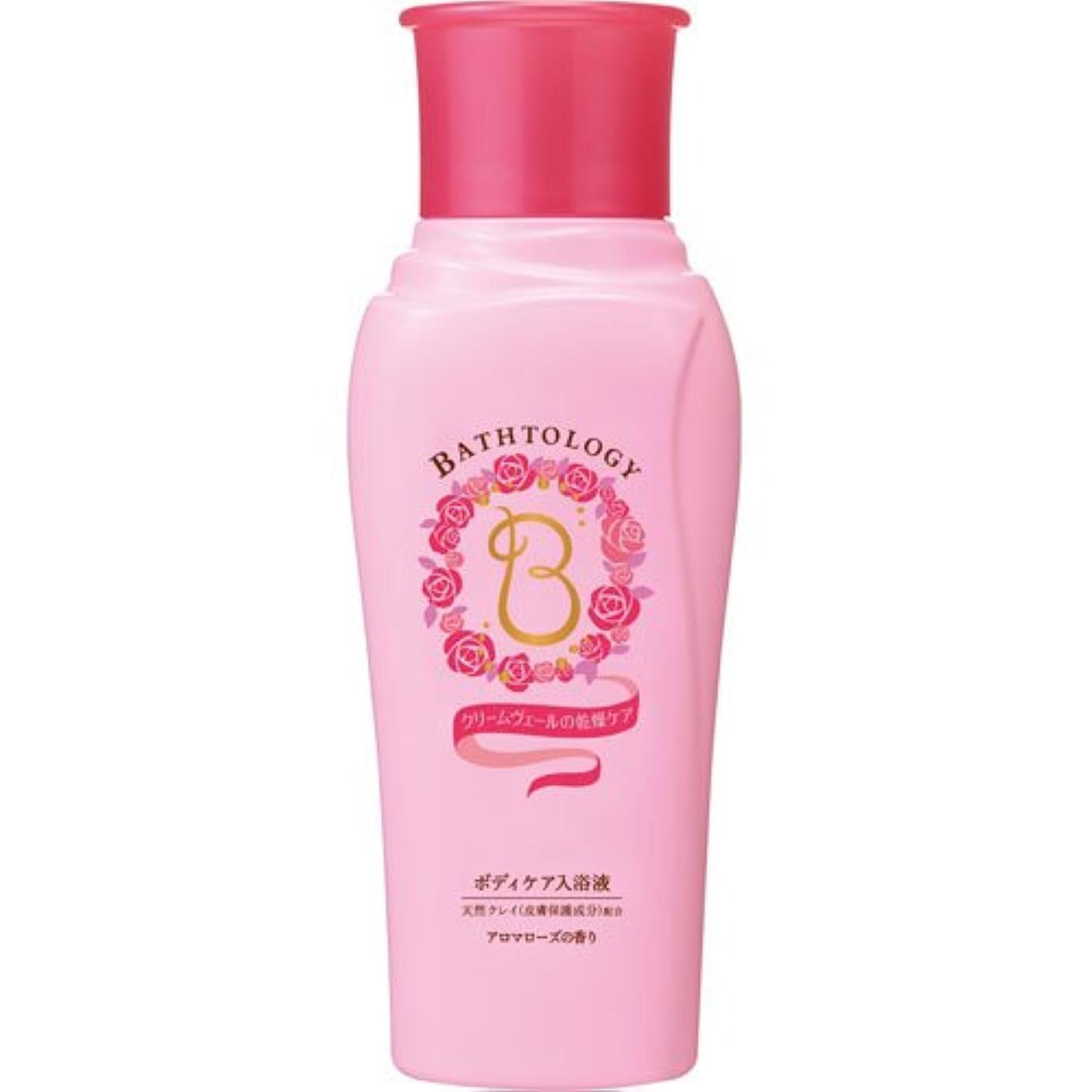 融合意見回想BATHTOLOGY ボディケア入浴液 アロマローズの香り 本体 450mL