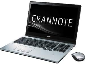 富士通 ノートパソコン LIFEBOOK AH90/P(Office Home and Business 2013搭載)(タッチパネル) GRANNOTE FMVA90P