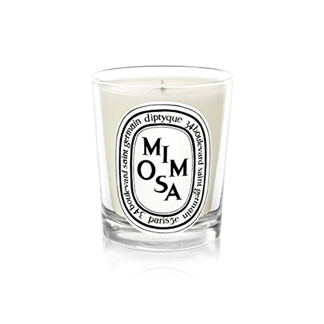 羽愚かな卒業Diptyqueキャンドルミモザ/ミモザ190グラム - Diptyque Candle Mimosa / Mimosa 190g (Diptyque) [並行輸入品]